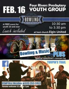 Youth Event - Music & Bowling